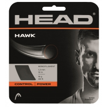 Head Tennissaite Hawk (Haltbarkeit+Power) grau 12m Set