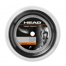 Head Tennissaite Hawk Touch (Haltbarkeit+Kontrolle) anthrazit 200m Rolle
