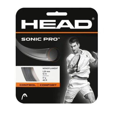 Head Sonic Pro schwarz Tennissaite