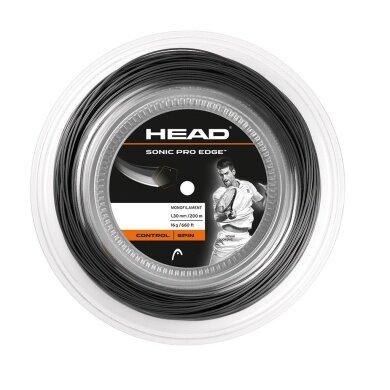 Head Sonic Pro Edge 1.30 schwarz 200 Meter Rolle