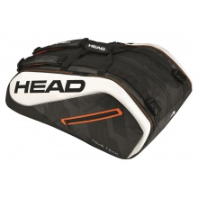 Head Racketbag Tour Team 12R Monstercombi 2017 schwarz/weiss