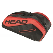 Head Racketbag Tour Team 6R Combi 2017 schwarz/rot