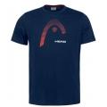 Head Tshirt Club Carl 2021 dunkelblau Herren