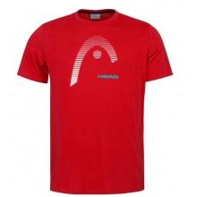 Head Tshirt Club Carl 2021 rot Herren