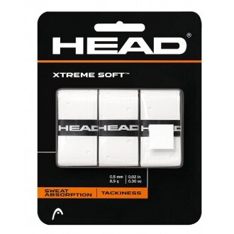 Head Xtreme Soft Overgrip 3er weiss