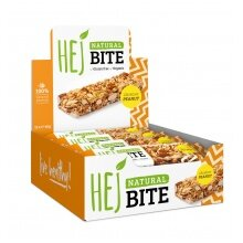 HEJ Natural Bite Crunchy Erdnuss 12x40g Box