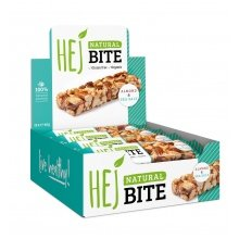HEJ Natural Bite Mandel/Salz 12x40g Box