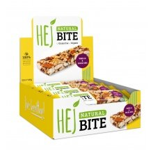HEJ Natural Bite Vanille/Kakao 12x40g Box