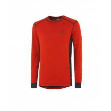 Helly Hansen Roskilde Crewneck Longsleeve Thermo Warm orange Herren