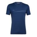 Icebreaker Tshirt Tech Lite SS Crewe Cadence Paths 2020 blau Herren