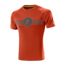 Mizuno Tshirt DryLite Wave orange Herren (Größe XL)
