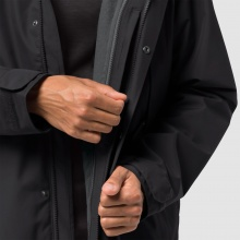 Jack Wolfskin Jacke West Harbour 3in1 schwarz Herren