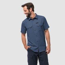 Jack Wolfskin Kurzarmhemd Thompson dunkelblau Herren
