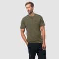 Jack Wolfskin Tshirt Crosstrail dunkelgrün Herren