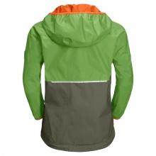 Jack Wolfskin Regenjacke Rainy (wind- und wasserdicht) grün Kinder