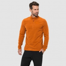 Jack Wolfskin Fleecepullover 1/2 Zip Arco orange Herren