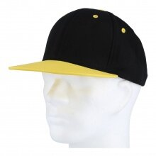JAKO Cap Dynamic schwarz/gelb