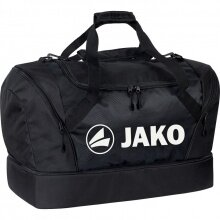 JAKO Sporttasche Jako mit Bodenfach schwarz Junior