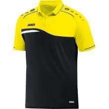 JAKO Polo Competition 2.0 2018 schwarz/neongelb Herren