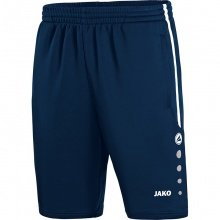 JAKO Trainingsshort Active 2018 marine/weiss Herren