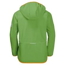 Jack Wolfskin Softshelljacke Fourwinds (wind-& wasserabweisend) grün Kinder