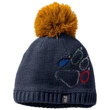 Jack Wolfskin Mütze Paw Knit dunkelblau Kinder