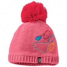 Jack Wolfskin Mütze (Bommel) Paw Knit pink Kinder