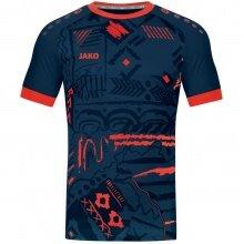 JAKO Sport-Tshirt (Trikot) Tropicana navy/flame Herren
