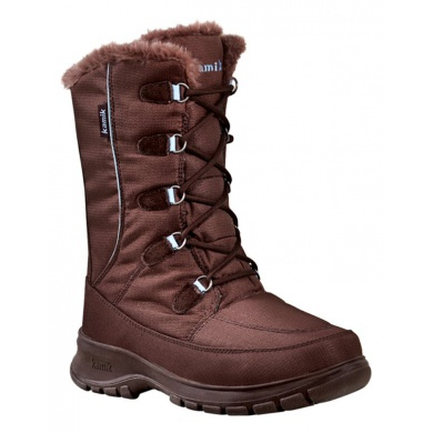 Kamik Brooklyn braun Winterschuhe Damen