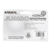 Karakal Schweissband Jumbo weiss 1er