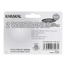 Karakal Schweissband schwarz 2er
