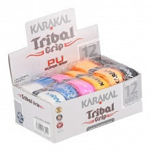 Karakal PU Super Grip Tribal 1.5mm Basisband 12er Box
