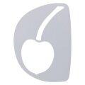 Kirschbaum Logoschablone Tennis Logo weiss