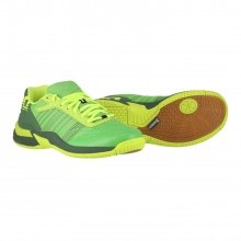 Kempa Attack Contender Caution 2018 grün Indoorschuhe Kinder