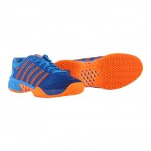 KSwiss Hypercourt Express HB Clay 2019 blau/orange Tennisschuhe Herren