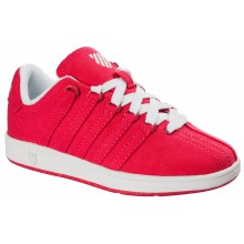 KSwiss Classic Vintage Canvas rasberry Sneaker Kinder