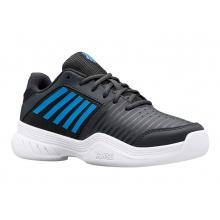 KSwiss Court Express Carpet 2021 grau/blau Indoor-Tennisschuhe Kinder