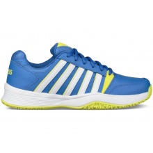 KSwiss Court Smash Omni blau Tennisschuhe Kinder