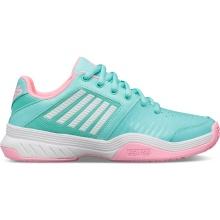 KSwiss Court Express arubablau/pink Allcourt-Tennisschuhe Kinder