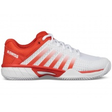 KSwiss Express Light Clay 2018 weiss/rot Tennisschuhe Damen