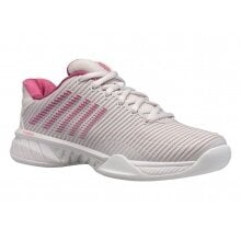 KSwiss Hypercourt Express 2 Carpet 2020 weiss/rose Indoor-Tennisschuhe Damen