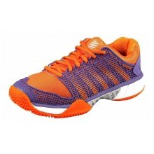KSwiss Hypercourt Express Clay purple/orange Tennisschuhe Damen