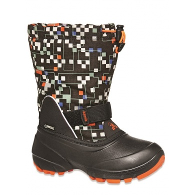 Kamik Shadow 5G Gore-Tex Dots schwarz Winterschuhe Kinder