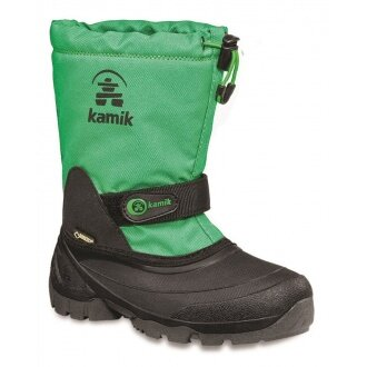 Kamik Waterbug 5G Gore Tex grün Winterschuhe Kinder