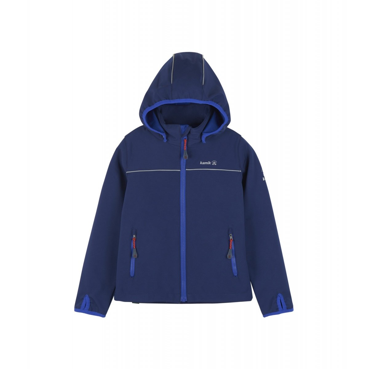 0d03f7860c Kamik Softshelljacke Jarvis mit Magic Oberfläche navy Kinder online ...
