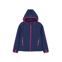 Kamik Softshelljacke Faye mit Magic Oberfläche petrol Kinder