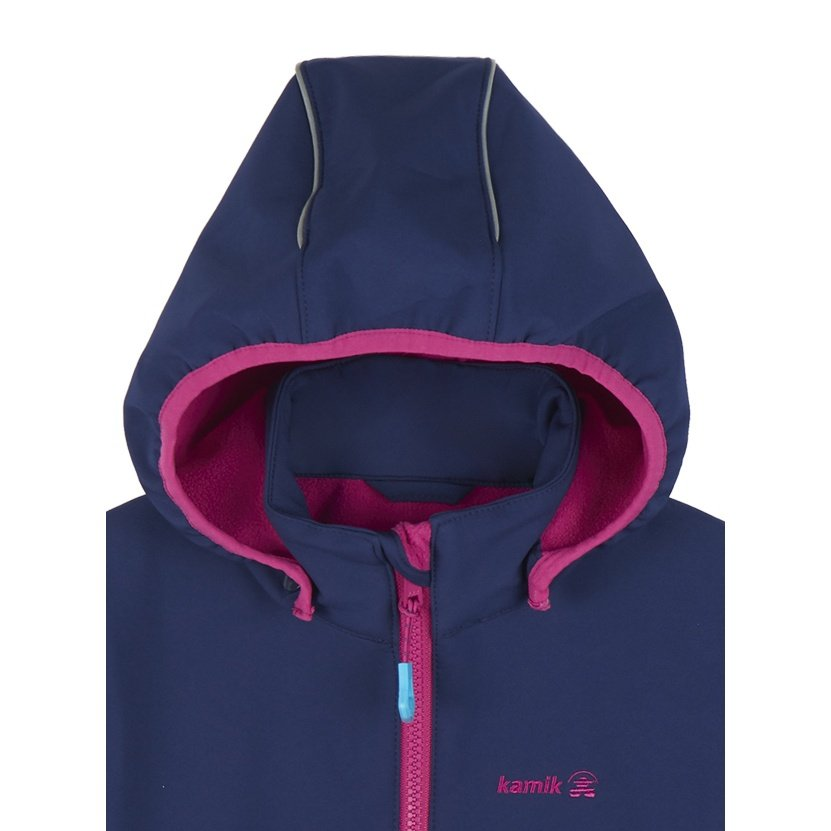 3913db3532 Kamik Softshelljacke Faye mit Magic Oberfläche petrol Kinder online ...
