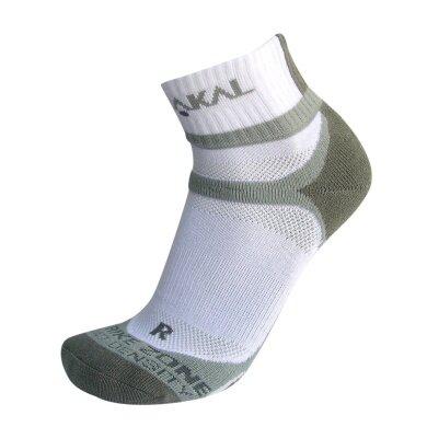 Karakal X4 Ankle Indoorsocke weiss/grau Herren