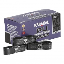 Karakal Basisband PU Super Grip 1.8mm schwarz 24er Box
