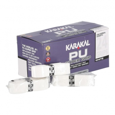 Karakal Basisband PU Super Grip 1.8mm weiss 24er Box